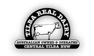 Tilba Real Dairy logo